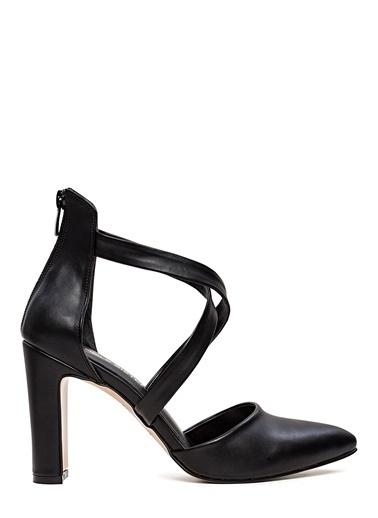 Sole Sisters Topuklu Ayakkabı Siyah - Sandra Siyah